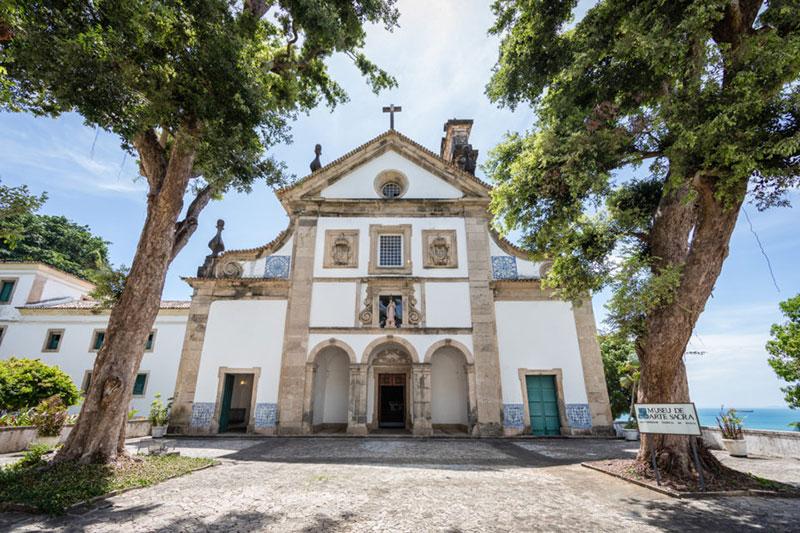 Museu de arte sacra, localizado na universidade federal da Bahia