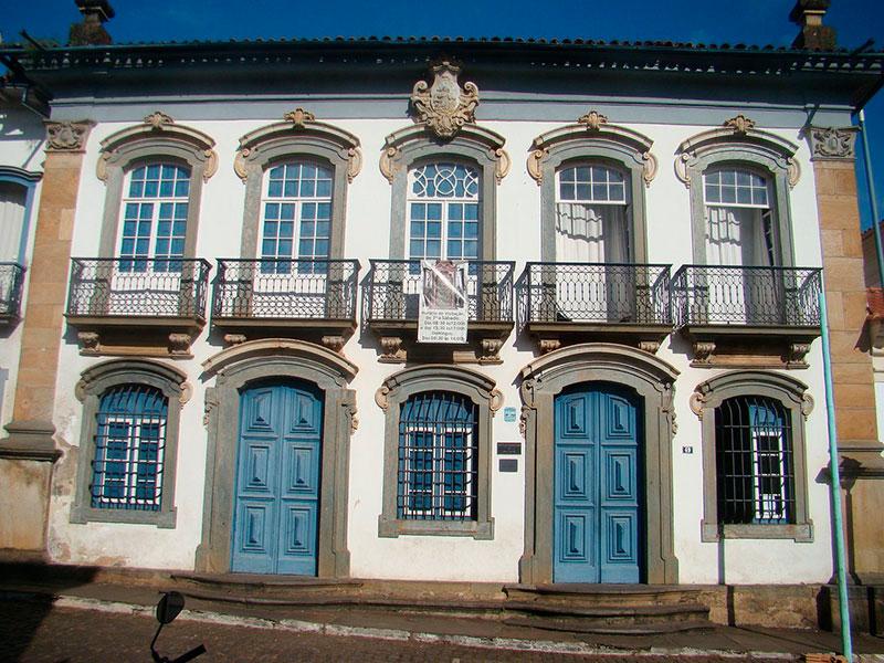 Museu da arte sacra de Mariana, no estado de Minas Gerais